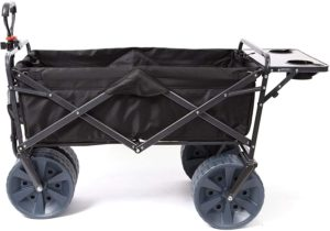 8. Mac Sports Heavy Duty Utility Wagon Beach Cart with table