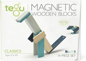 #9 14 Piece Tegu Magnetic Wooden Block Set