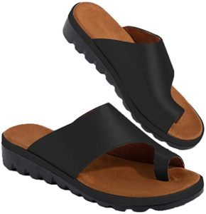 #9 Chenghe Women's Flip Flop Wedge Sandal Comfort Open Toe Thong Slid Slippers Summer Beach Travel Sandal Shoes