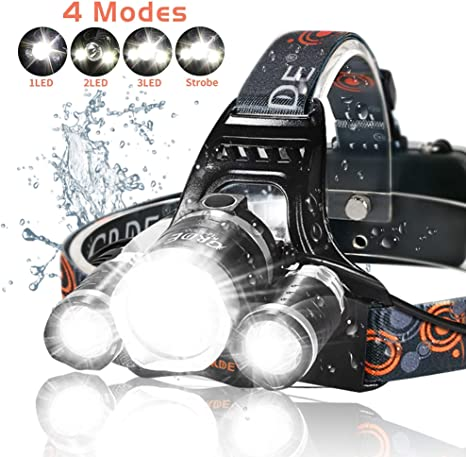 Top 10 Best Rechargeable Headlamps in 2021 Reviews