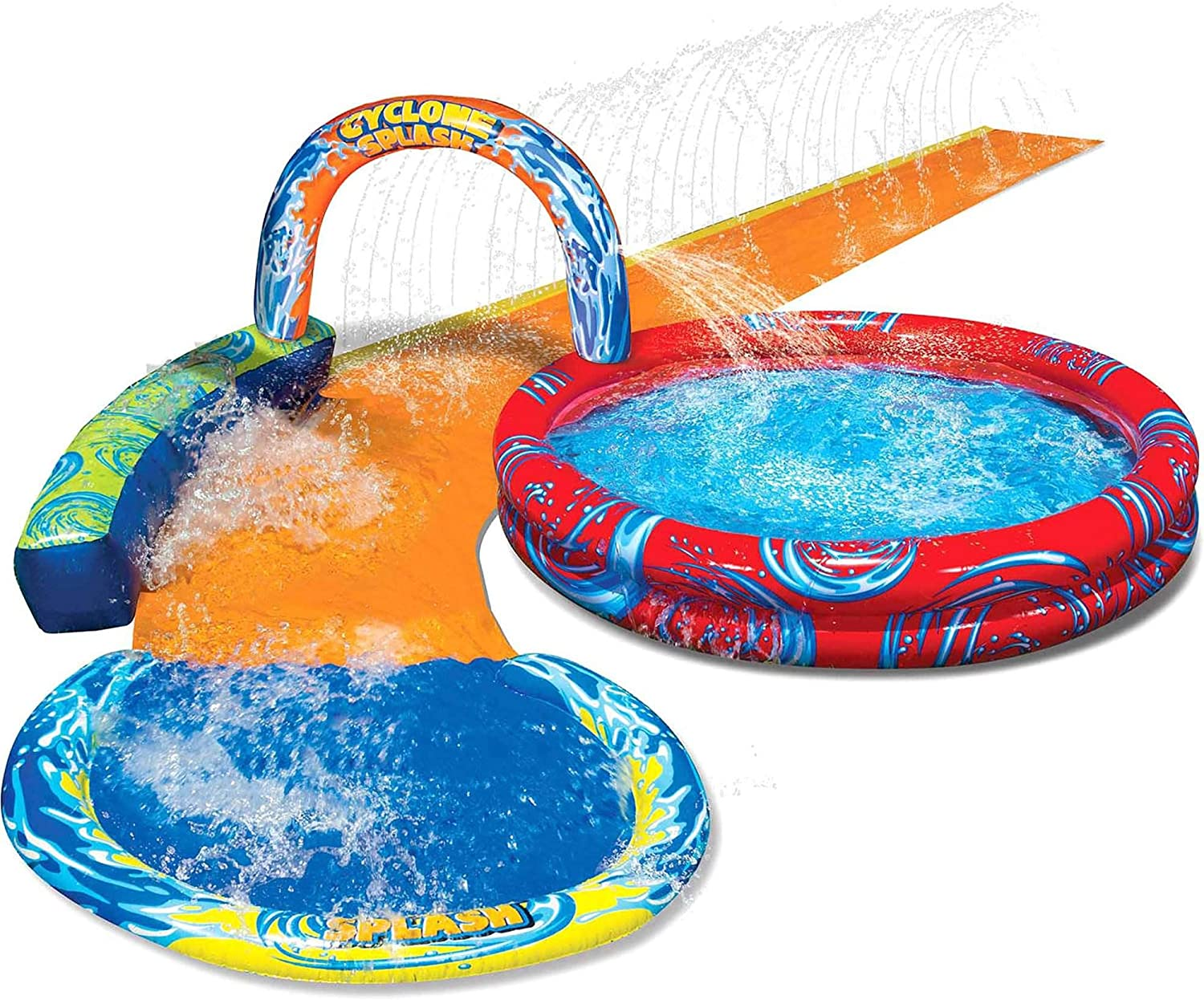 #9. BANZAI Cyclone Splash Inflatable Park