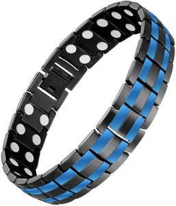 #9. Feraco Men's Magnetic Bracelets