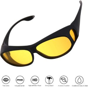 9. OSKIDE Night Driving Glasses with UV Protection