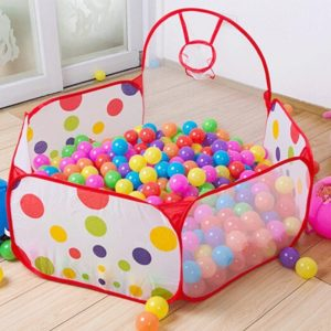 9. PortableFun Playhouse Ball Pit Pool Playpen