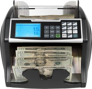 #9. Royal Sovereign Money Counter with Counterfeit Detection