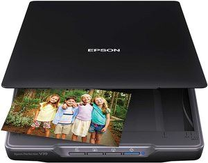 1. Epson Perfection V39 Color Photo & Document Scanner
