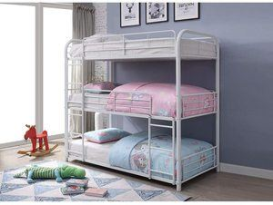#10 Metal Triple Bunk Bed