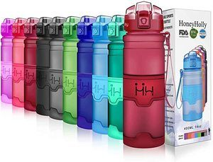 #2 HoneyHolly Sports Portable Water Bottle