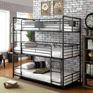 #2 William's Home Furnishing Olga Bunk Bed
