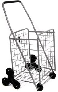 2. Helping Hand Deluxe Stair Climber Cart