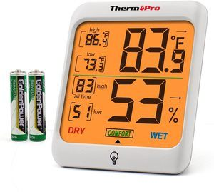 4. ThermoPro Indoor Digital Thermometer