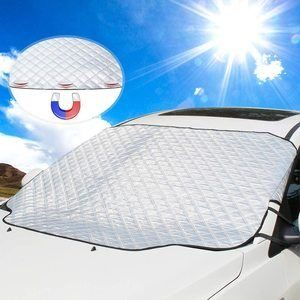 4. UBEGOOD Sunshade for Windshield, Waterproof Sun Visor Protector