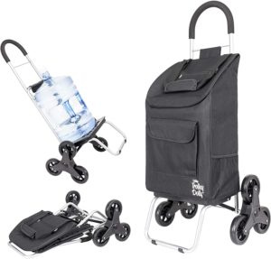 4. dbest products Stair Climber Trolley Dolly (Black)