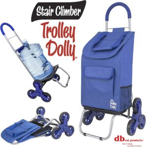 5. dbest products Stair Climber Trolley Dolly (Blue)