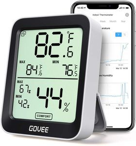 6. Govee Thermometer Hygrometer with Notification Alert