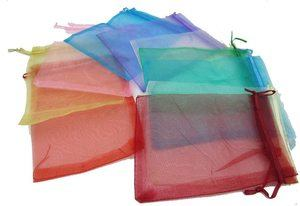 6. ZXUY Satin Drawstring Organza Bags Pouch