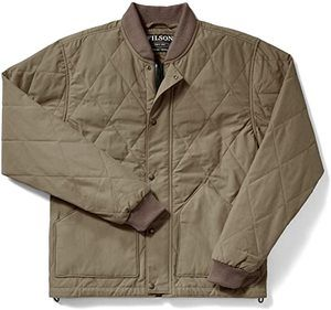 #7 Filson Quilted Pack Jacket Tan Large