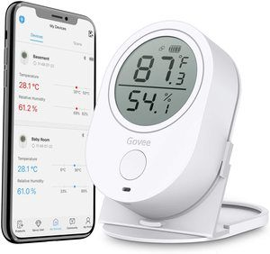 7. Govee Temperature Humidity Monitor
