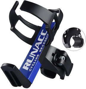 #7. RUNACC Adjustable Water Bottle Holder Cage