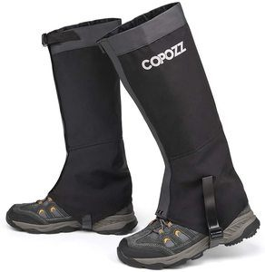 #8. COPOZZ Leg Gaiters for Men and Women, Waterproof