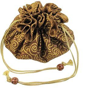 9. Drawstring Jewelry Pouch by Marisa D'Amico