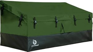 #9. YardStash Outdoor Storage easy Assemble Deck Box XL