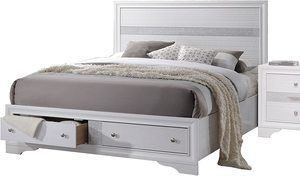 #10 ACME Naima Eastern King Bed w Storage