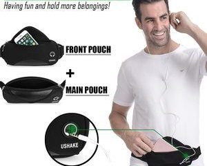 #2 USHAKE Running Belt with Extender Belt