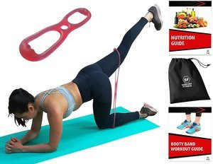 #3 Sargoby Fitness Easy to use Butt Resistance Band