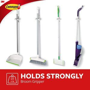 #4 Command 08095001268 Broom & Mop Grippers