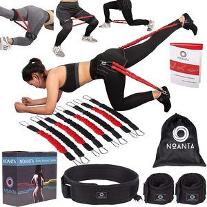 #5 NOANTA Booty Resistance Belt Workout Bands System