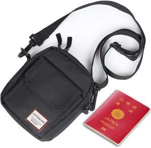 #9 Black Small Side Shoulder Bag Crossbody Bag For Men Women