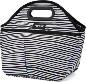 10. PackIt Freezable Traveler Lunch Bag, Wobbly Stripe