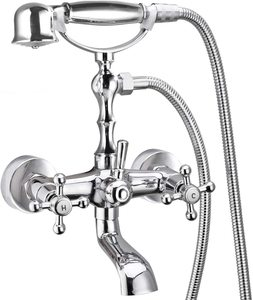 #3 Aolemi Polish Chrome Bathtub Faucet
