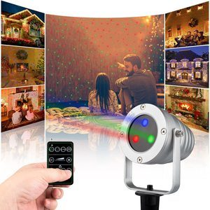 #3 Starry Laser Lights Landscape Projector Waterproof
