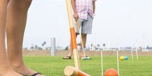 3. GoSports Six Player Croquet Set for Adults & Kids
