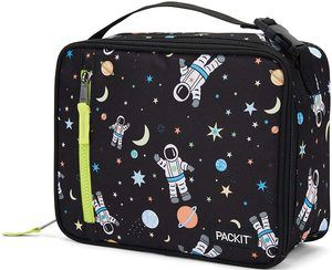 4. PackIt Freezable Classic Lunch Box, Spaceman