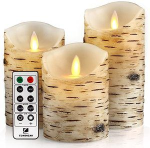 #5 comenzar Flickering Candles