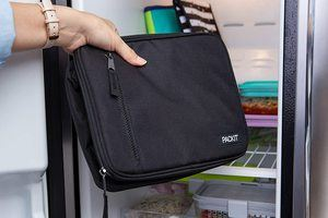 5. PackIt Freezable Classic Lunch Box, Black