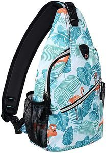 6. MOSISO Sling Backpack, Travel Hiking