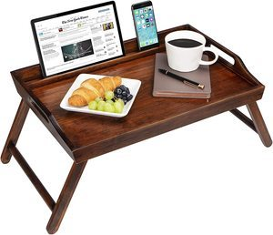 #7 LapGear Media Bed Tray with Phone Holder 17.3 Inch Laptops