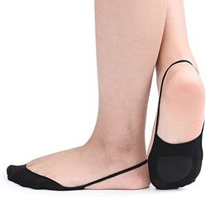 7. Flammi 4 6 Pairs Women Ball of Foot Cushion Socks