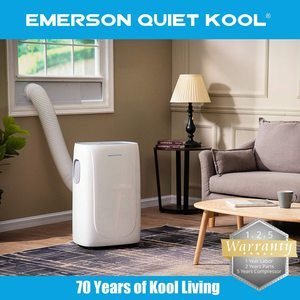 #8 Emerson Quiet Kool Portable Air Conditioner