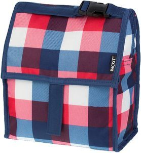 8. PackIt Freezable Gel-Liner Lunch Bag