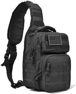 8. REEBOW GEAR Tactical Sling Bag Pack