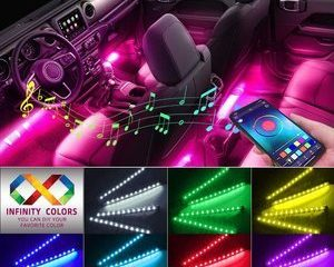 #9 Car Interior Lights, Caferria Car LED Strip Light