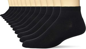 9. Hanes Men's Active Cool Ankle Socks