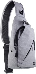 9. Peak Gear Sling Compact Crossbody Backpack