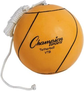 1. Champion Sports Optic Yellow Tether