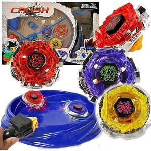 1. Crush Battling Blades Game Tops Metal Fusion Starter Set